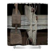 American Loom 3 Of 3 Shower Curtain