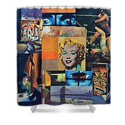 American Masters Shower Curtain