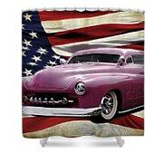 American Merc Shower Curtain