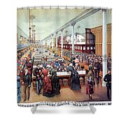 American Millinery, C1885 Shower Curtain