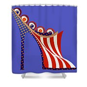 American Mule Shower Curtain