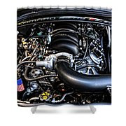 American Muscle Car Power Shower Curtain