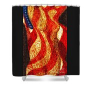 American Nude Shower Curtain