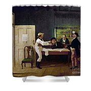 American Politicians, 1844 Shower Curtain
