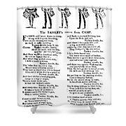 American Revolution: Song Shower Curtain
