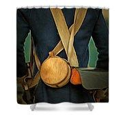 American Revolutionary Soldier Shower Curtain