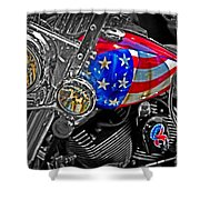 American Ride Shower Curtain