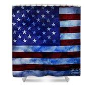American Sky Shower Curtain