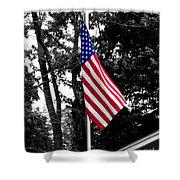 American Spirit Shower Curtain