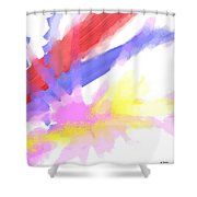 American Sunrise Shower Curtain