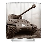 American Tank Shower Curtain