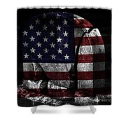 American Tombstone Shower Curtain