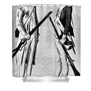 American Uniforms, 1784 Shower Curtain