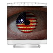 American View Shower Curtain
