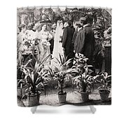 American Wedding, 1900 Shower Curtain
