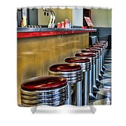 Americana - 1950's Diner Shower Curtain