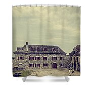 Fort Ticonderoga Shower Curtain