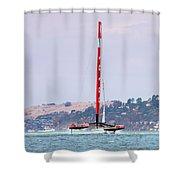 America's Cup 2013 Luna Rossa 02 Shower Curtain