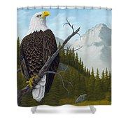 America's Pride Shower Curtain