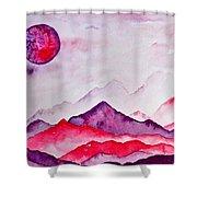 Amethyst Range Shower Curtain