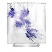 Amethyst Splash Shower Curtain