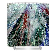 Amid The Falling Snow Shower Curtain