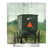 Amish Shower Curtain