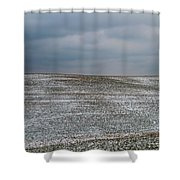 Amish Country In Winter Shower Curtain