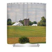 Amish Farm 2 Shower Curtain