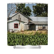 Amish Farm In Tennessee Shower Curtain