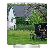 Amish Way Of Life Shower Curtain
