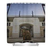 Amon G Carter Stadium At Tcu Shower Curtain