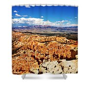 Among The Canyon Shower Curtain