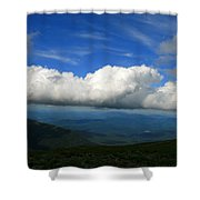 Among Clouds  Shower Curtain
