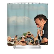 Among The Crowd Shower Curtain