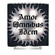 Amor Omnibus Idem Shower Curtain