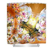 Amour Infinity Shower Curtain