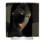 Amour Partage  Love Shared  11 Shower Curtain