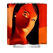 Amour Partage  Love Shared  15 Shower Curtain