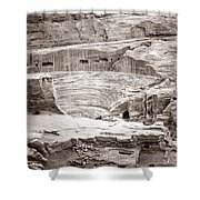 Amphitheater In Petra Shower Curtain