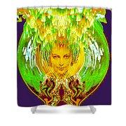 Amphora Of Fire Shower Curtain