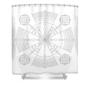 Amplitude Shower Curtain