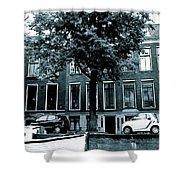Amsterdam Electric Car Shower Curtain