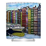 Amsterdam Holland Shower Curtain
