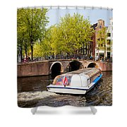 Amsterdam In Spring Shower Curtain