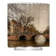 Amsterdam Panorama Shower Curtain