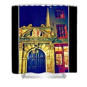 Amsterdam Postcard Shower Curtain