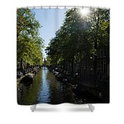 Amsterdam Spring - Green Sunny And Beautiful Shower Curtain