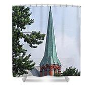 Amsterdam Steeple Shower Curtain