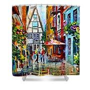 Amsterdam Street Shower Curtain